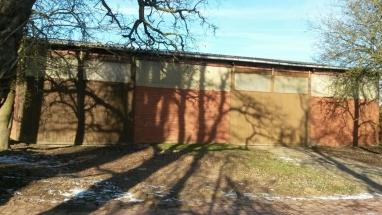 Unterstellplatz für Wohnmobile in einer Scheune in Bünde, Womoflex