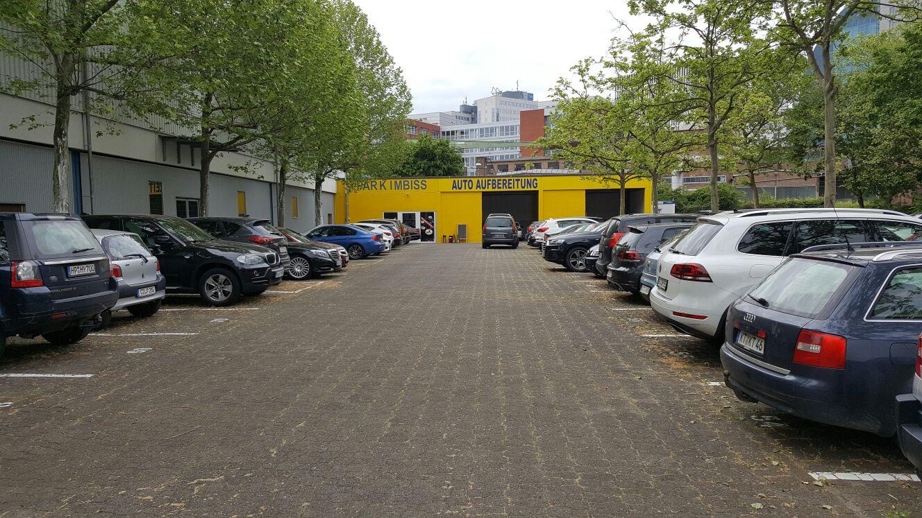 parken direkt am flughafen frankfurt