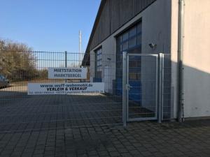 Außenansicht Stellplätze für Reisemobil und Wohnwagen 91613 Marktbergel Womoflex