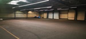 Innenansicht Hallenstellplätze für Wohnmobil, Caravan Nähe Leipzig