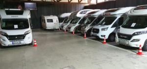 Unterstellplätze für Wohnmobil, Caravan im Caravan-Park-Hunsrück (Innenansicht)