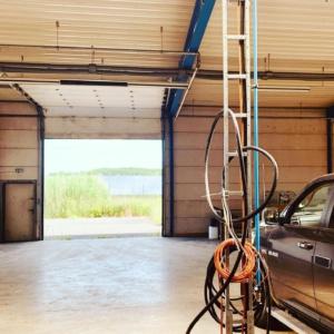 Innenansicht - Badeleben Hallenstellplätze Unterstellplätze für Wohnmobil, Caravan, Wohnwagen, Oldtimer und Boot in Sachsen-Anhalt