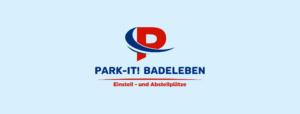 LOGO - PARKTIT! Badeleben Hallenstellplätze für Wohnmobil, Caravan, Wohnwagen, Oldtimer und Boot in Sachsen-Anhalt