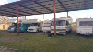 Unterstellplätze für Wohnmobile, Wohnwagen, Caravan in Gransee